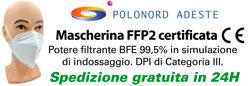 Mascherine filtranti FFP2